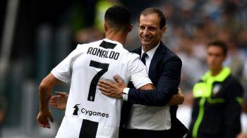 "Cristiano Ronaldo, mesaj special pentru Allegri inainte de ultimul meci la Juventus! Ce a transmis portughezul: ""Esti un mare antrenor"""