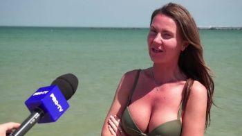 Reactia unei turiste din Mamaia. Ce a impresionat-o in acest weekend pe litoral