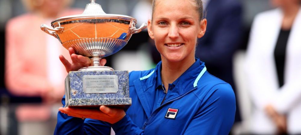 Pliskova castiga turneul de la Roma si trece peste Simona Halep in clasamentul WTA! Urcare de 5 locuri pentru cehoaica! Pe cat va fi Halep incepand de maine