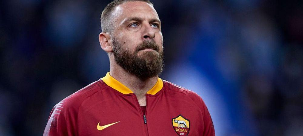 Unde ajunge Daniele De Rossi, legenda Romei, dupa o viata pe Olimpico! Transfer de senzatie: merge sa fie idol pentru unii dintre cei mai fanatici suporteri din lume
