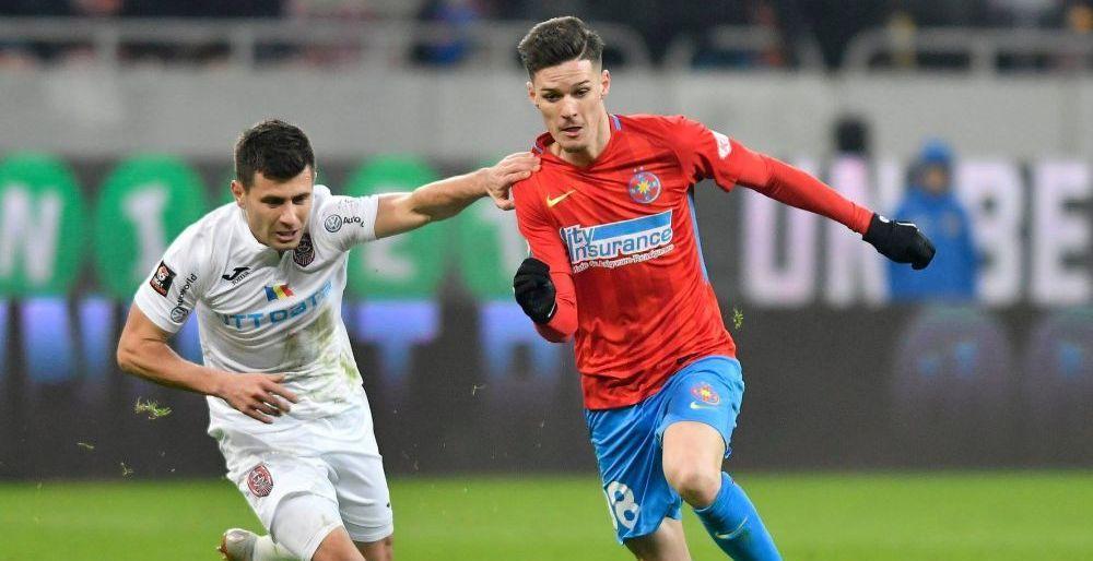 FCSB - CFR CLUJ LIVE 20:30 | Ultimul meci pentru Mihai Teja pe banca FCSB! Surpriza din primul 11! Echipele de start