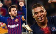 Cate goluri trebuie sa dea Mbappe in ultima etapa din Franta pentru a-l depasi pe Messi in clasamentul pentru Gheata de Aur. Argentinianul a jucat astazi ultima partida a sezonului