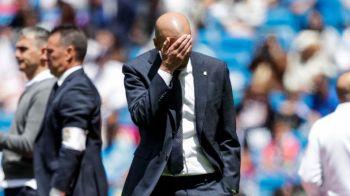 """Zidane, conflict deschis cu un jucator de la Real Madrid! """"Nu il foloseam nici daca aveam patru schimbari!"""" Replica fotbalistului!"""