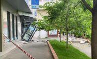 Bancomat aruncat in aer, pe un bulevard din Capitala. Explozia s-a auzit in tot cartierul