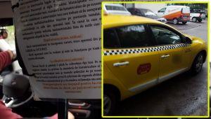 """""""Io ma retrag, doamna""""! Cum a fost umilit un taximetrist din Bucuresti de o clienta"""