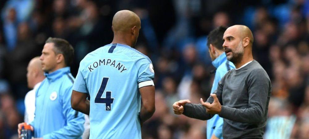 Guardiola l-a ales pe inlocuitorul lui Kompany! Suma URIASA pe care vor fi nevoiti sa o plateasca cei de la City