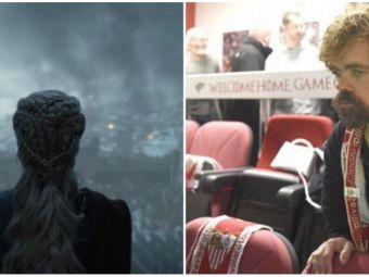 "Bancul zilei dupa finalul Game of Thrones :) ""Griezmann a semnat cu Sevilla"". FOTO"