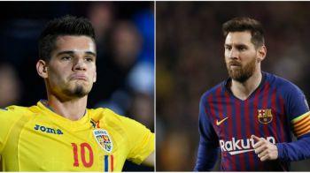"""Ianis Hagi, pe aceeasi lista cu Hazard, Dembele sau Mbappe! """"Hagi Jr. este 85,7% Leo Messi"""" Studiul inedit realizat de spanioli!"""