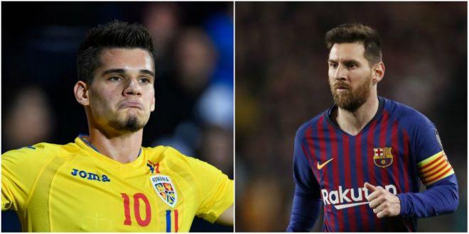 Ianis Hagi, pe aceeasi lista cu Hazard, Dembele sau Mbappe!  Hagi Jr. este 85,7% Leo Messi  Studiul inedit realizat de spanioli!