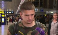 """Razvan Marin poate rata participarea la EURO! """"Chiar este o situatie foarte delicata"""" Ce a spus fotbalistul la revenirea in tara!"""