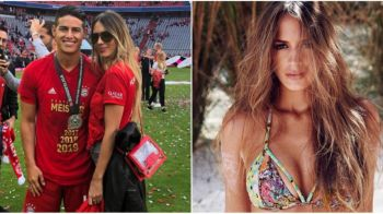 James Rodriguez inscrie si in afara terenului! Columbianul a cucerit un supermodel din Venezuela! A fost sotia unui artist celebru | GALERIE FOTO