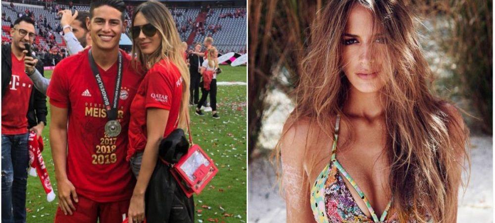 James Rodriguez inscrie si in afara terenului! Columbianul a cucerit un supermodel din Venezuela! A fost sotia unui artist celebru   GALERIE FOTO