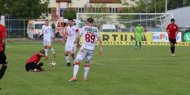 Hermannstadt - FC Botosani 0-2! Roman si Golofca au adus victoria moldovenilor! Botosani a terminat meciul in 10 dupa ce Oaida a fost eliminat in 3 minute