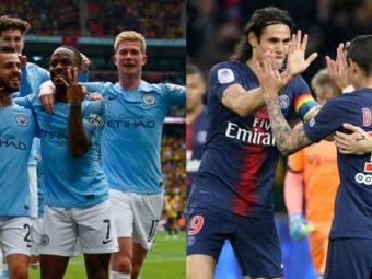 Manchester City si PSG ar trebui excluse din Europa!  Mesajul razboinic al presedintelui La Liga:  Sunt marionete ale statului