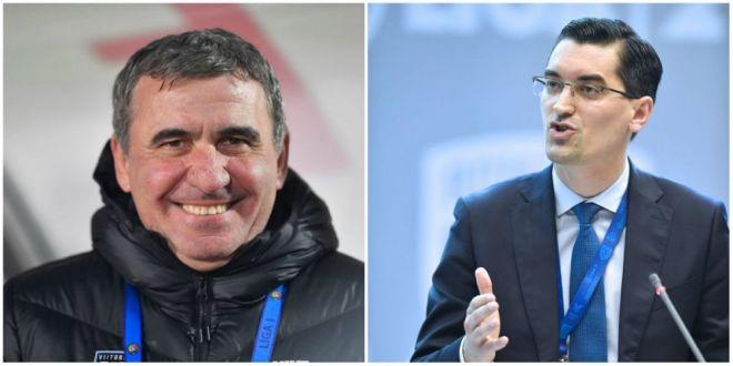 Razvan Burleanu ii da dreptate lui Hagi in disputa cu UEFA!  Cat mai multe echipe in Champions League  Ce spune presedintele FRF de situatia lui Razvan Marin!