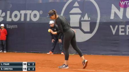 Sorana Cirstea, in semifinale la Nurnberg! Costumul purtat de ea a provocat controverse:  Nu e catsuit, cum avea Serena!  FOTO