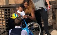 FOTO | Imaginea care ii sperie pe fani: Serena Williams, in scaun cu rotile la Paris!