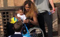 """Roland Garros 2019: """"E lipsa de RESPECT!"""" Serena Williams, criticata aspru s-a odihnit intr-un SCAUN CU ROTILE. FOTO"""