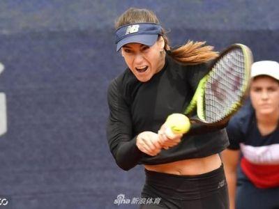 """Sorana Cirstea a renuntat la """"cel mai tare echipament din istorie"""". Cum s-a imbracat la semifinala pierduta de la Nurnberg. FOTO"""