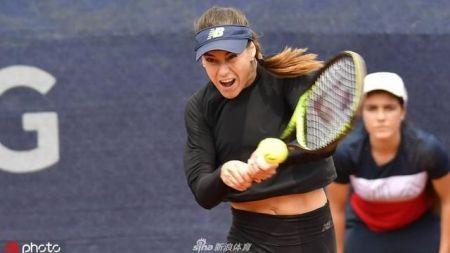 Sorana Cirstea a renuntat la  cel mai tare echipament din istorie . Cum s-a imbracat la semifinala pierduta de la Nurnberg. FOTO