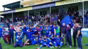 Academica Clinceni a promovat in Liga 1 cu un gol marcat in minutul 90+2! NEBUNIE la finalul meciului cu FC Arges. VIDEO