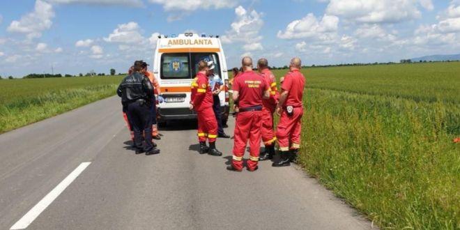 Un biciclist a fost decapitat in Arad. Cum s-a produs accidentul socant