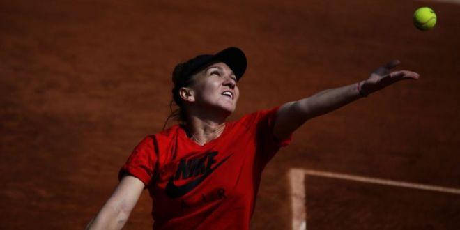 Simona Halep, Roland Garros 2019 |  La antrenament cu atleta completa!  Halep a vorbit la Paris cu francezii de la L Equipe:  Am inceput sa privesc tenisul diferit