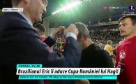 FINALA CUPEI ROMANIEI | Semnul de impacare definitiva? Ce a facut Hagi cand a ajuns in fata lui Burleanu, la festivitatea de premiere