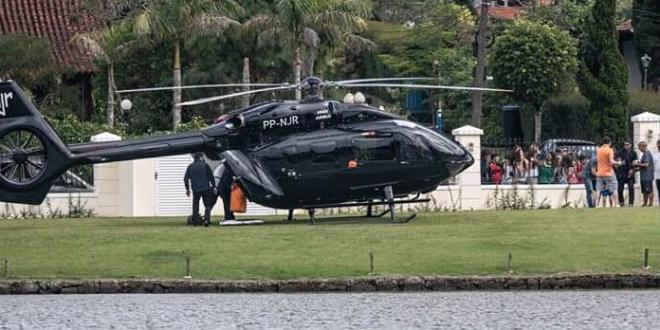 FABULOS! Neymar a ajuns in cantonamentul Braziliei cu elicopterul! Imaginile care au starnit furia fanilor:  De asta o sa mori speranta!