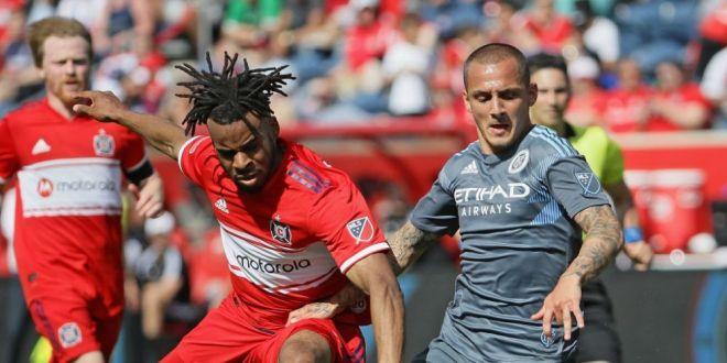 Reactia lui Mitrita dupa golul FABULOS inscris pentru New York City!  De asta am ales sa vin in MLS!  Romanul vrea titlul in acest sezon