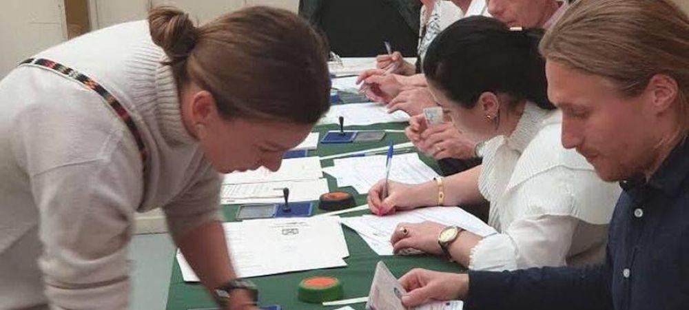 SIMONA HALEP ROLAND GARROS 2019   Simona Halep a fost sa voteze! Ce reactie au avut romanii cand au vazut-o la urne