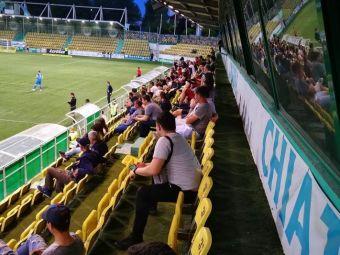EXIT POLL ORA 21: 43 de spectatori au ales sa vina la stadionul din Chiajna!  Mesajul GENIAL postat de Poli Iasi pe Facebook in timpul meciului cu Chiajna