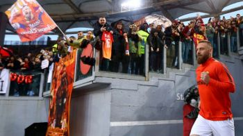 FOTO | IMAGINI EMOTIONANTE: De Rossi, meciul de ADIO in tricoul Romei! Capitanul pleaca dupa o viata petrecuta pe Olimpico