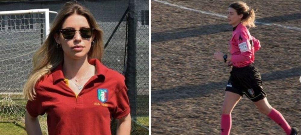 SOCUL prin care a trecut o tanara arbitra pe terenul de fotbal. La ce a supus-o un jucator: SI-A DAT JOS PANTALONII! FOTO