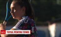 A jucat 2 ani cu Halep si la 14 ani a ajuns cea mai buna la varsta ei! Ioana si-a aruncat papusile si le-a inlocuit cu trofeele din tenis