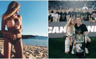 Iubita de fotbalist care a ECLIPSAT Cupa Spaniei! Momentul in care toti jucatorii Valenciei s-au uitat cu invidie la colegul lor. FOTO