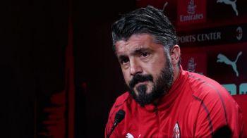 Milan, gata de o noua revolutie! Gattuso a plecat! Cele 3 nume pentru banca GIGANTULUI din Serie A