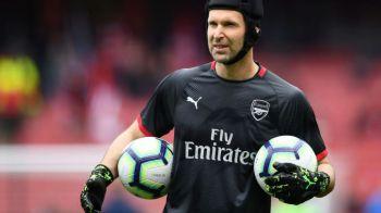 Apara in finala Europa League poarta lui Arsenal, apoi pleaca la Chelsea! Situatie inedita pentru Petr Cech, care se va retrage dupa meciul de maine