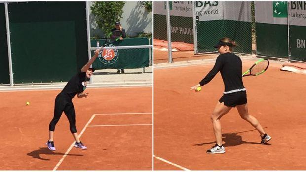 SIMONA HALEP - AJLA TOMLJANOVIC, Roland Garros 2019: Procedeele la care a lucrat Simona inaintea meciului. FOTO