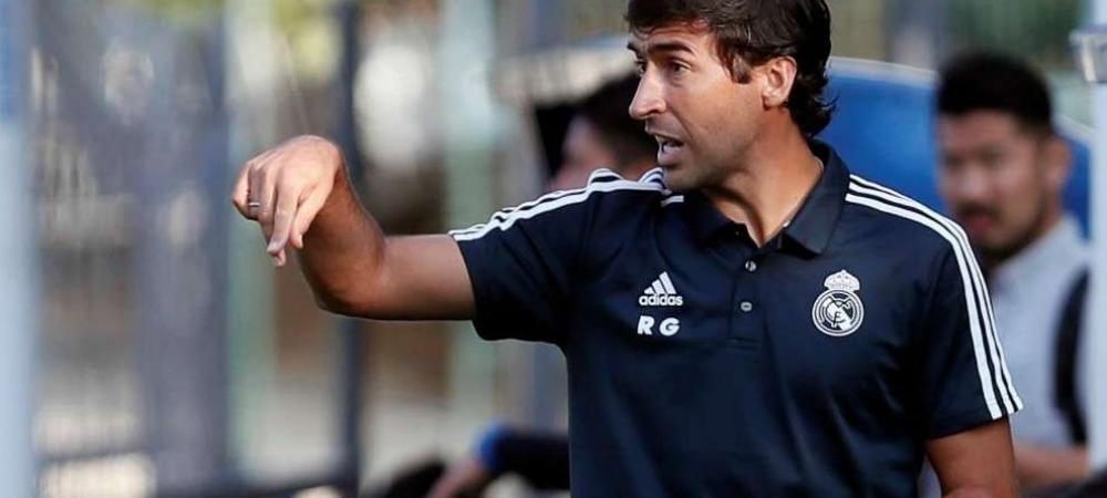 Real Madrid continua traditia! Raul calca pe urmele lui Zinedine Zidane! Spaniolul va conduce Real Madrid Castilla!