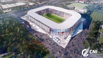 """""""Lucrarile la arenele din Ghencea si din Giulesti avanseaza pe zi ce trece!"""" Cum arata acum stadioanele. FOTO"""