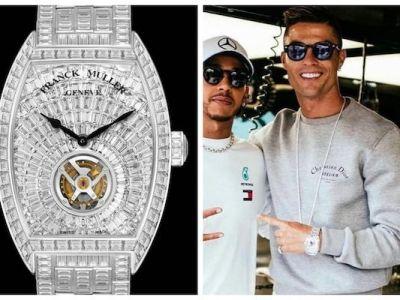 Banii nu iti cumpara timp, dar iti pot lua un ceas cu 424 de diamante! Suma incredibila platita de Cristiano Ronaldo pentru ultimul sau accesoriu: FOTO