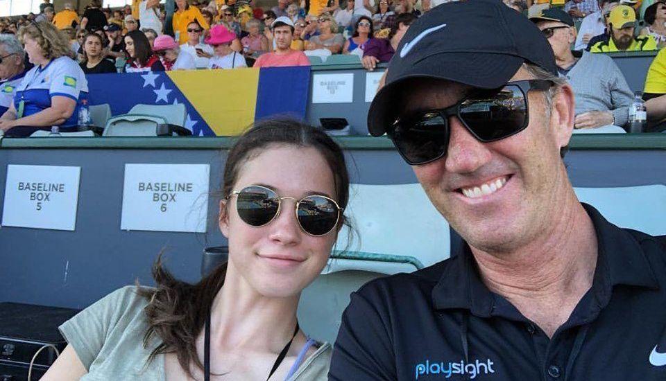 ROLAND GARROS 2019 | Cum a reactionat Tahlia, fiica lui Darren Cahill, cand a aflat ca tatal ei nu o va mai antrena pe Simona Halep