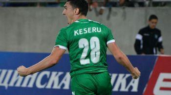 """Avionul"" Keseru, gata sa decoleze spre EURO! Atacantul vrea sa continue in Bulgaria: ""Mi-as dori sa raman pana punem steaua pe tricou!"""