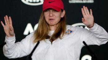 "SIMONA HALEP LA ROLAND GARROS   Cui i-a dedicat Simona victoria care a dus-o in optimi: ""E ziua ei, trebuia sa-i fac un cadou frumos!"""