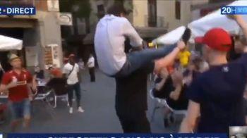 "TOTTENHAM - LIVERPOOL, FINALA UEFA CHAMPIONS LEAGUE | Nebunie pe strazile din Madrid! Suporterii au ""rapit"" un reporter francez! VIDEO"