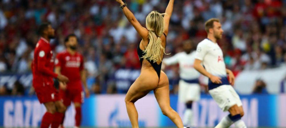 TOTTENHAM - LIVERPOOL | Motivul REAL pentru care tanara a intrat pe teren la finala UEFA Champions League! INCREDIBIL: ce s-a intamplat dupa cateva zeci de minute