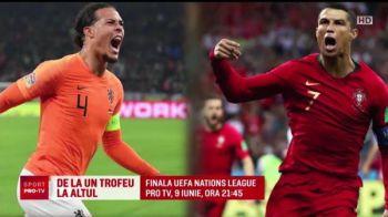 Van Dijk poate castiga doua trofee intr-o saptamana! Finalistele Nations League se decid miercuri si joi, iar marea finala e duminica la ProTV, ora 21:45