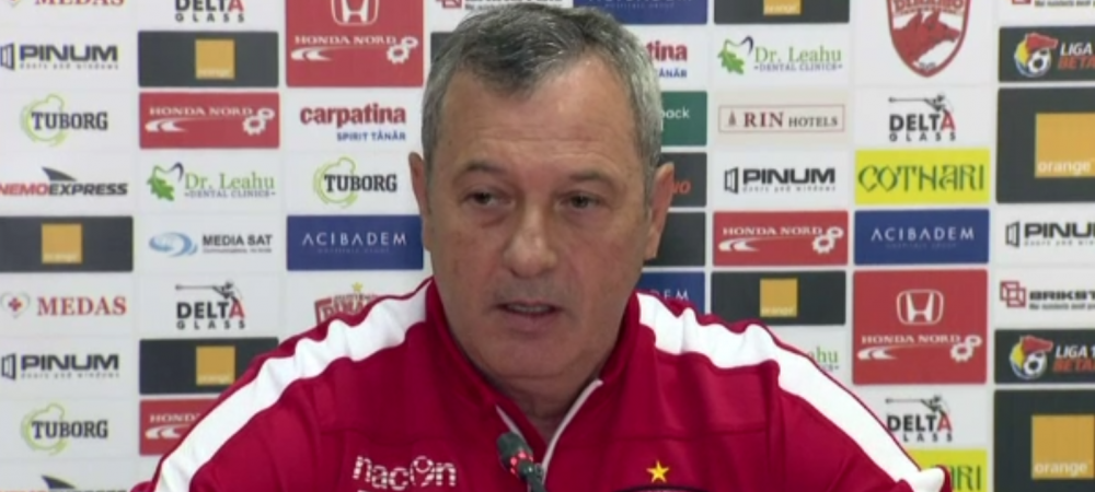 """""""Surpriza, surpriza, mi s-a comunicat acest lucru!"""" Cum a aflat Rednic ca nu mai e antrenorul lui Dinamo: ce s-a intamplat dimineata"""