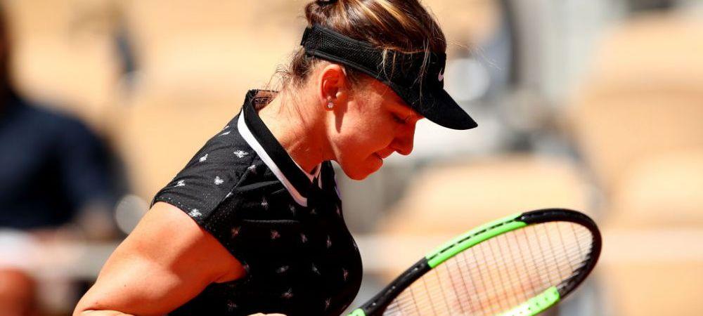 SIMONA HALEP LA ROLAND GARROS | Cu cine va juca Simona in sferturile de finala, dupa ce a pulverizat-o pe pustoaica Swiatek
